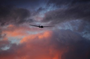 CGC ASK-13 on final against clouds D7K_3349b (1)